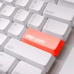 Green Cash key on a computer keyboard with clipping path